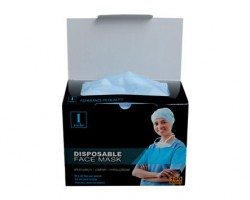 1Mile Disposable 2-ply Ear Loop Face Mask - White