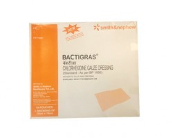 Smith & Nephew Bactigras Antiseptic Dressing - 10 X 30 cm