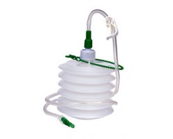 Polymed Polyvac Closed Wound Suction Set - 600 ml