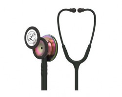3M Littmann Classic III Stethoscope - Black with Rainbow Chestpiece 5870