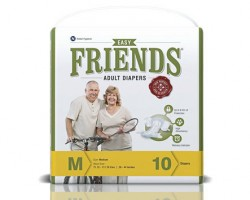 Friends Easy Adult Diapers - Medium (5 Pack)