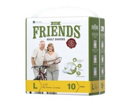 Friends Easy Adult Diapers - Large (5 Pack)