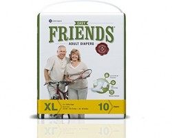 Friends Easy Adult Diapers - Extra Large (5 Pack)