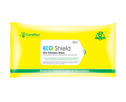 CareNow Eco Shield 0.4% BZK Bath Wipes