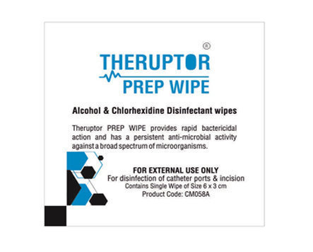 CareNow Theruptor CHG IPA Incision Prep Wipes - Large
