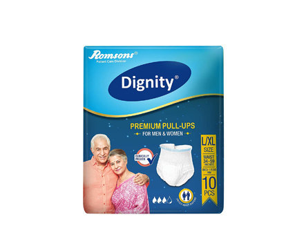Romsons Dignity Pull Up Adult Diapers - Large to Extra Large