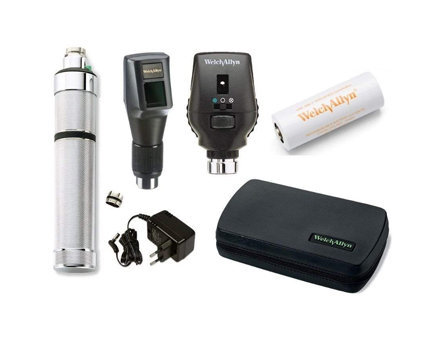 Welch Allyn Retinoscope Opthalmoscope Set