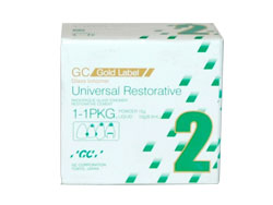 GC Fuji 2 Gold Label Glass Ionomer Restorative