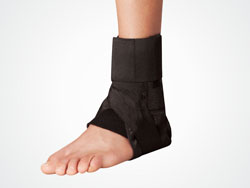 CPO Ankle Brace with Strap - Black