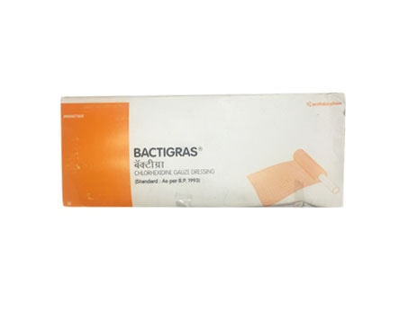buy smith nephew bactigras antiseptic dressing at best price online in india smb. Black Bedroom Furniture Sets. Home Design Ideas