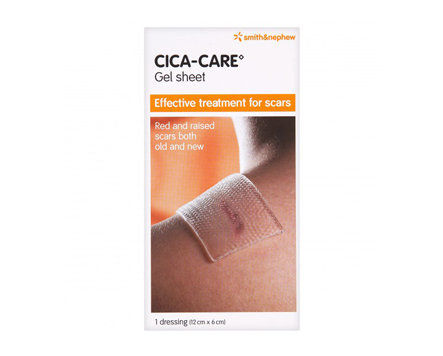 Smith & Nephew Cica-Care Silicone Gel Adhesive Sheet