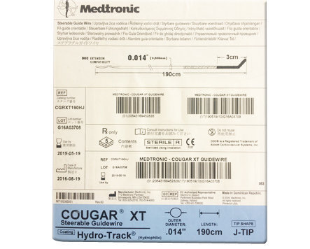 Medtronic Cougar XT PTCA (Steerable) Guide Wire