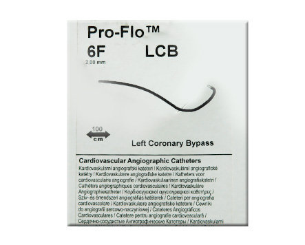Medtronic Pro-Flo Speciality Curves Diagnostic Catheter