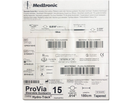 Medtronic ProVia 15 PTCA (Steerable) Guide Wire