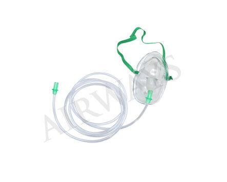 Airways Surgicals Airomask Oxygen Mask with Tubing