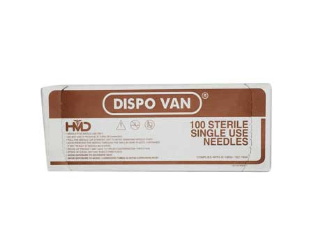 Buy Dispo Van Hypodermic Needle