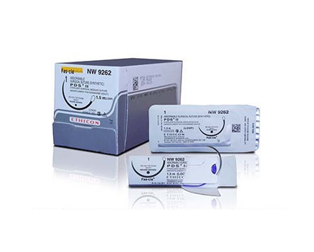 Ethicon PDS II Sutures USP 5-0, 3/8 Circle Prime Multipass - Z493H