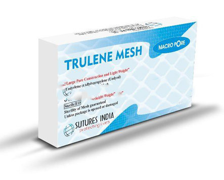 Sutures India Trulene Macropore Surgical Mesh