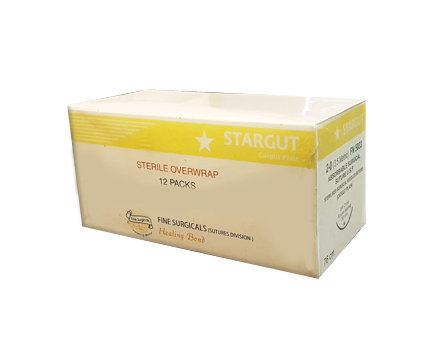 Fine Surgicals Stargut Plain Catgut Needleless Sutures USP 0