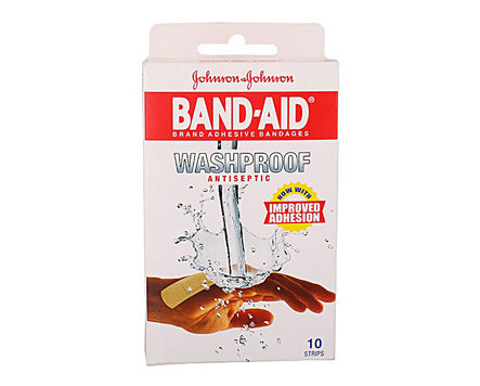 Band Aid Washproof - 10s