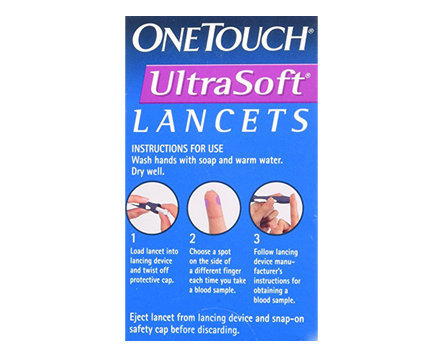 One Touch Ultra Soft Lancets