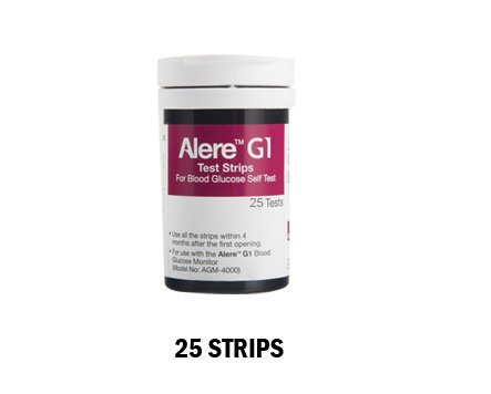 Buy alere g1 test strips - Pack of 25s