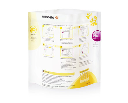Medela Quick Clean Microwave Bags (For Disinfection)