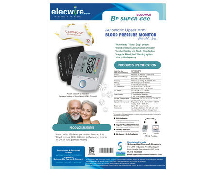 Solomon Blood Pressure Monitor