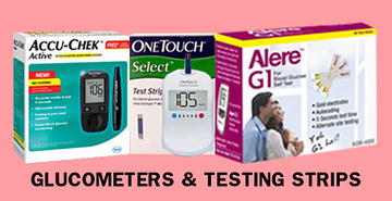 Glucometers & Testing Strips
