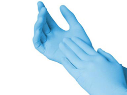 Nitrile Gloves Combo
