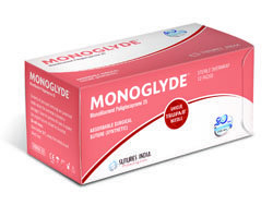 Sutures India Monoglyde Polyglecaprone 25